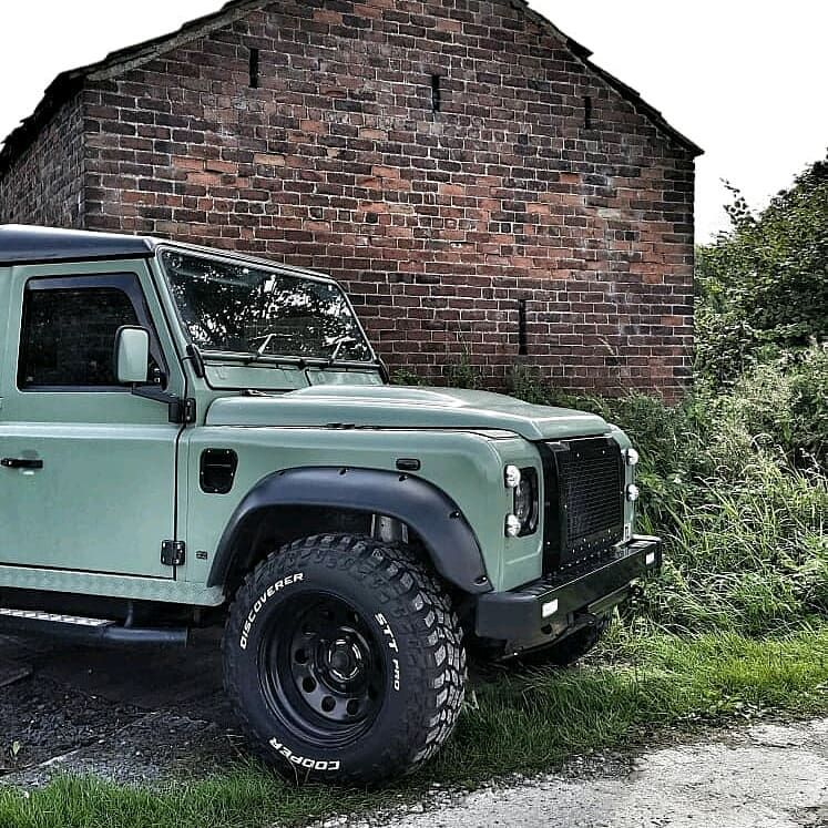The Defender Of North Yorkshire Retro Defenders Follow Us Dailyoverland Landrover Land Rover Land Rover Defender Defender