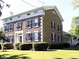 cobblestone houses western ny scipio center new york cobblestone rh pinterest com
