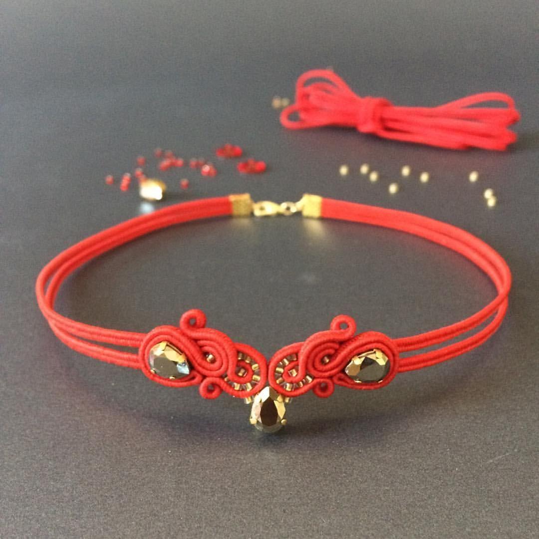 Sutasz 3 Soutache Soutache Jewelry Jewelry Inspiration Amazing Jewelry