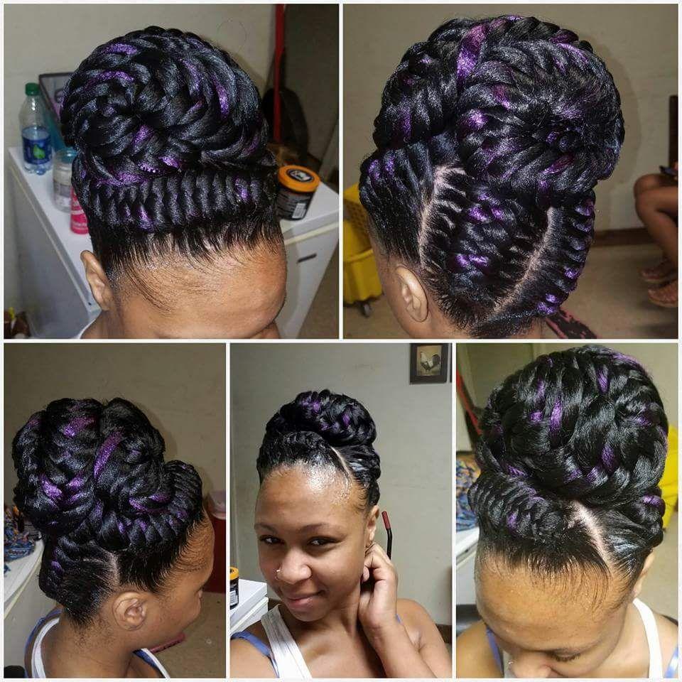 pin sandra brown braids