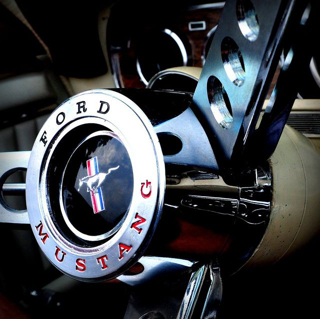 Ford Mustang Steering Wheel I M Driving In My Car