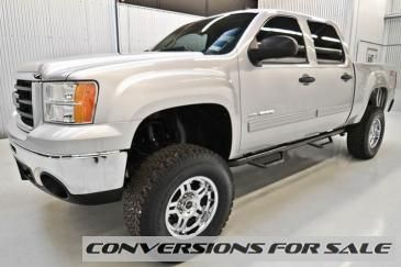 2010 Gmc Sierra 1500 Crew Cab Sle 4wd Z71 Lifted Truck Lifted