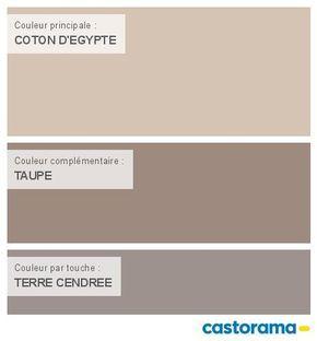 Castorama nuancier peinture mon harmonie peinture coton - Couleur peinture salon taupe ...