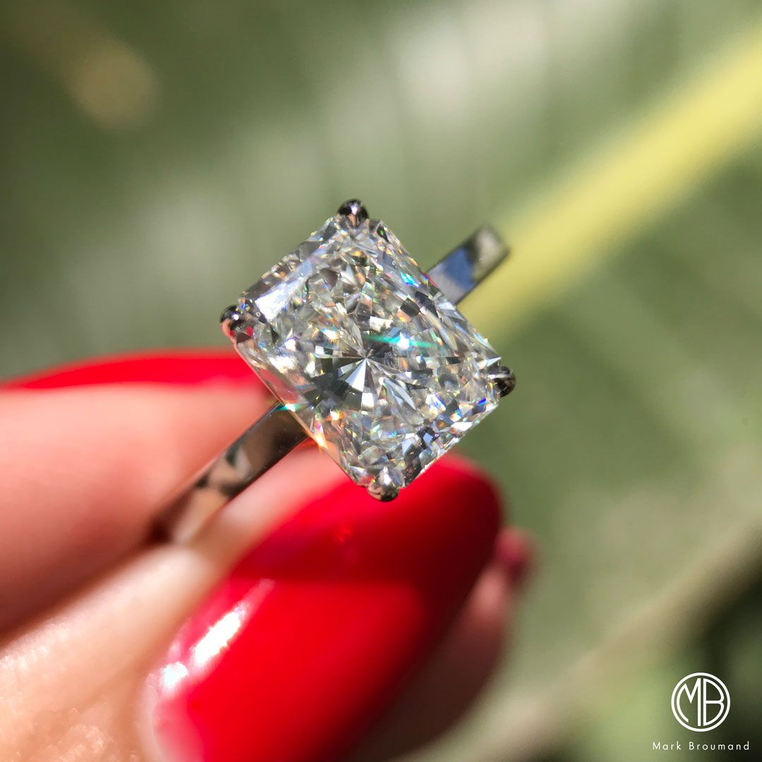 Pin On Radiant Cut Engagement Ring