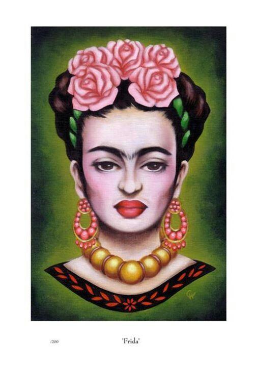 Frida Kahlo Inspired Art