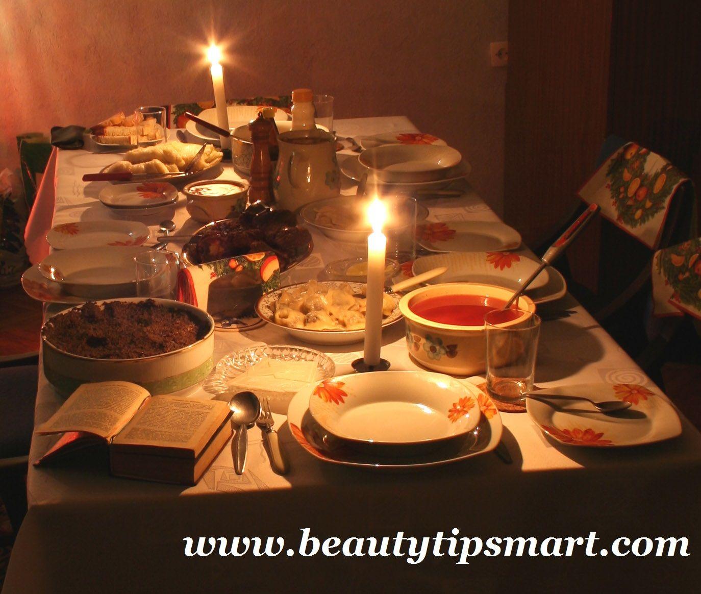 casual traditional christmas eve dinner menu ideas 2014