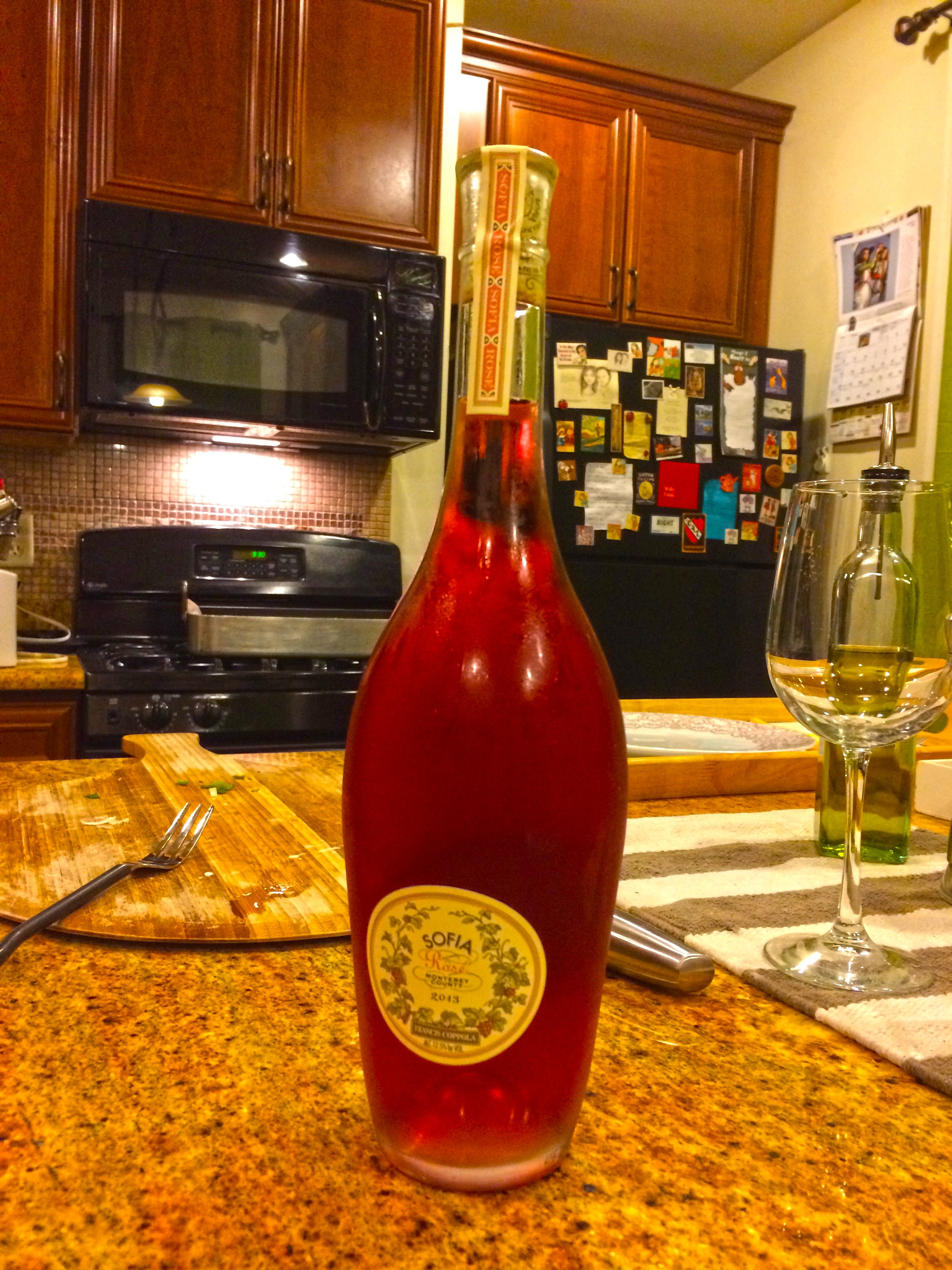 I Cooked A Few Branzinos European Seabass And We Opened A Sofia Rose Excellent Little Wine This Stylish Rose Is Produced By Francis Sea Bass Hot Sauce Bottles Sofia Rose