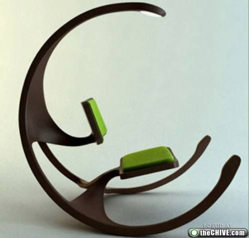 I Love This And Would Really Like To Have One. Crazy Chairs : TheCHIVE