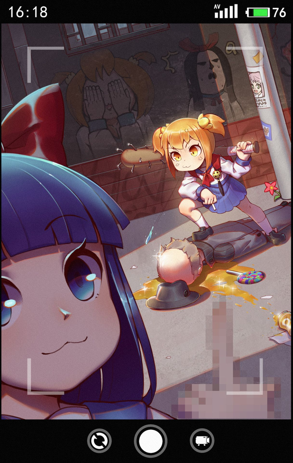 Pop Team Epic Tumblr Anime Kawaii Anime