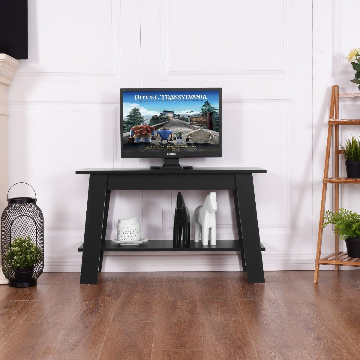 Tangkula 2tier Tea Table Retangular Wood Coffee Table Modern Multipurpose Tv Stand W Coffee Table Wood Modern Wood Coffee Table Tv Stand With Storage