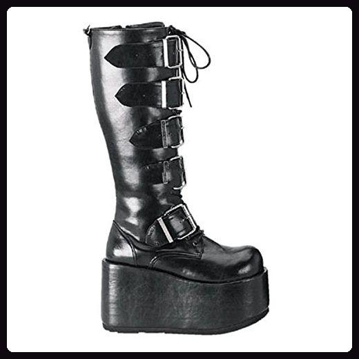5065e1ca7cff36 Demonia Ripsaw-518 - Gothic Industrial Plateau Stiefel Schuhe 36-45 ...