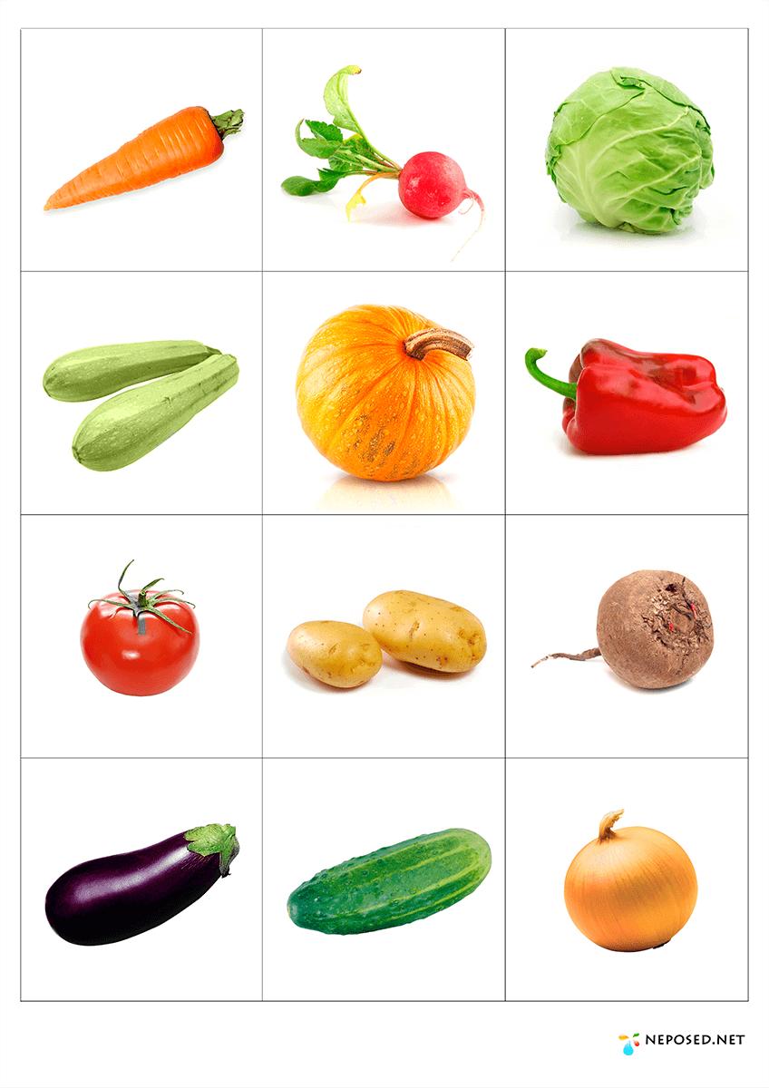 Открытки для, овощи и фрукты картинки для детей цветные