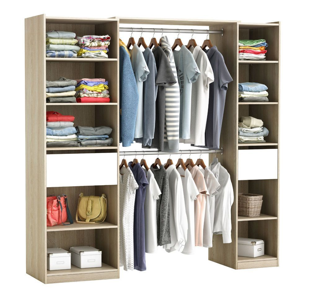 Cool Schrank Offen In 2020 Closet Organization Armoire Home