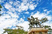Statue Masamune Date Lord Tohoku Region Sengoku Era Sendai Castle – Stock , #aff… – daisy