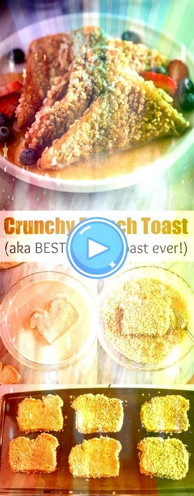 French Toast is a cereal crusted french toast recipe thats sure to beco  Crunchy French Toast is a cereal crusted french toast recipe thats sure to beco   Hawaiian Ham an...