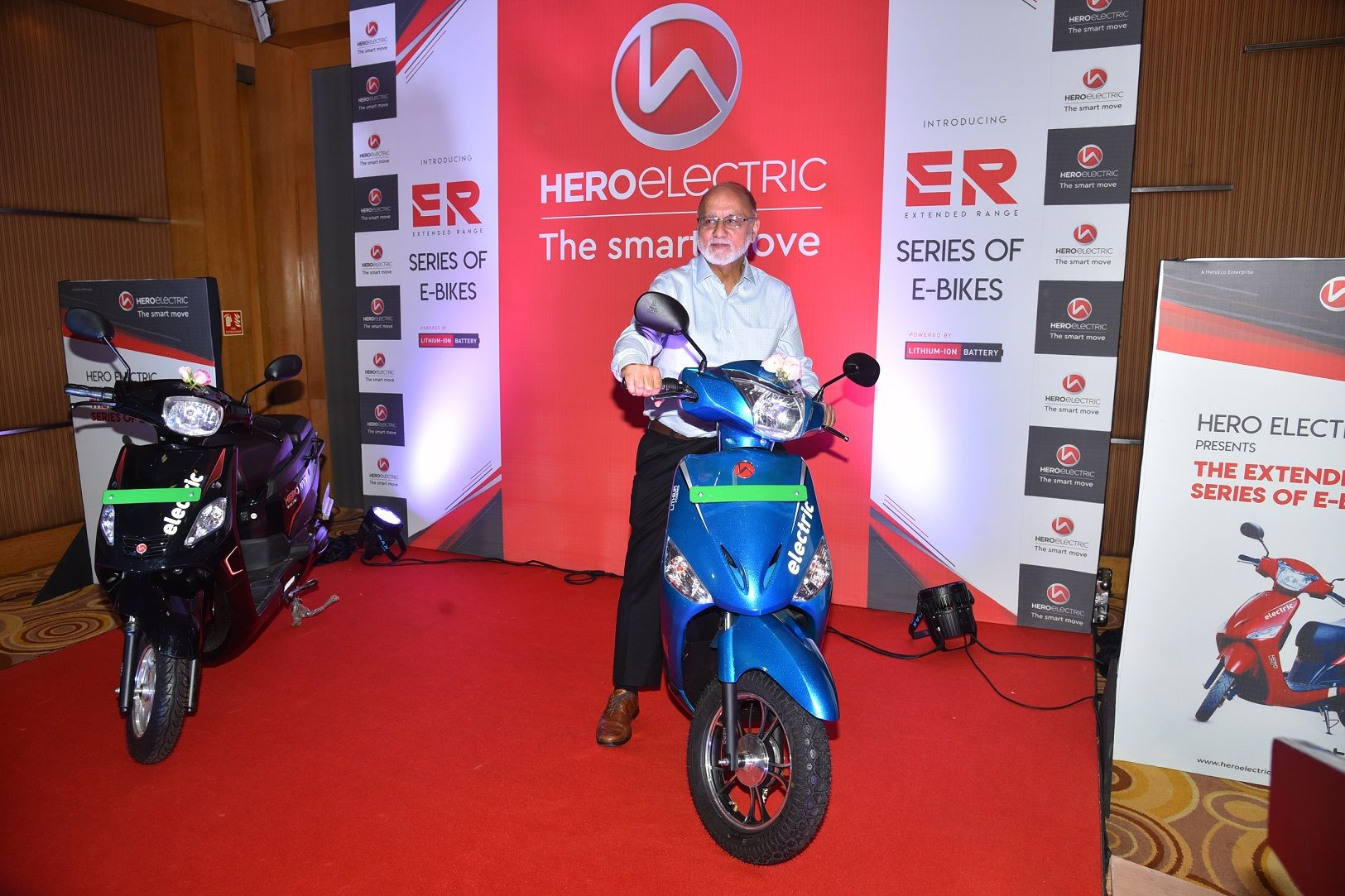Hero Electric Launches Optima Er And Nyx Er Starting From Rs 68 000 Bike News Hero Electricity