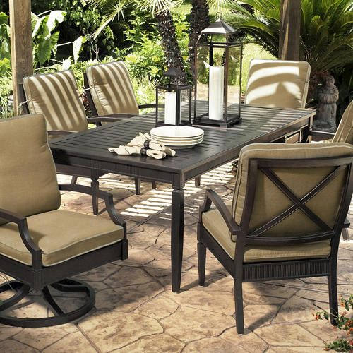 radiance dining collection at menards for the home outdoor rh pinterest com