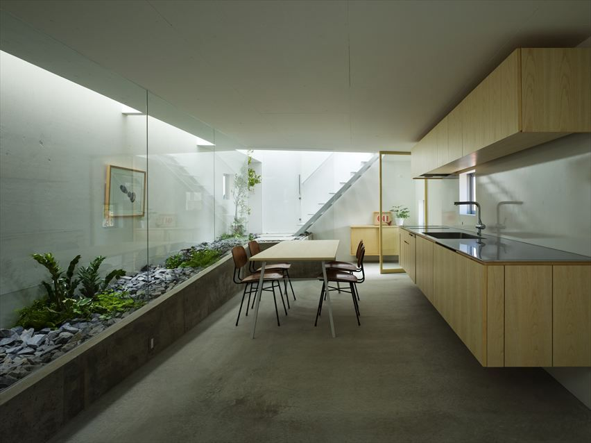 House In Moriyama Picture gallery House