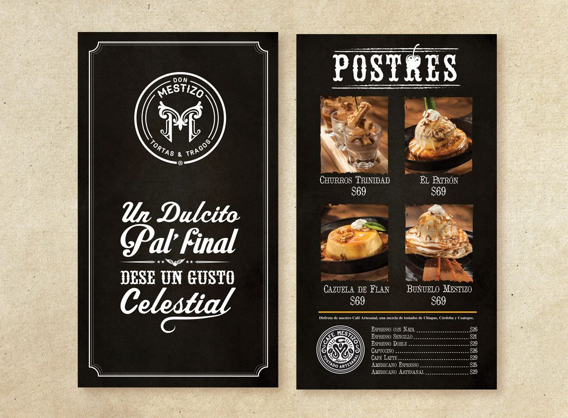 Concept u0026 Branding for Don Mestizo Restaurant