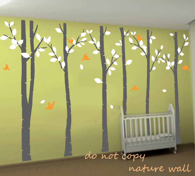 Dinning room - | Around the World | Pinterest | Birch forest, Tree ...