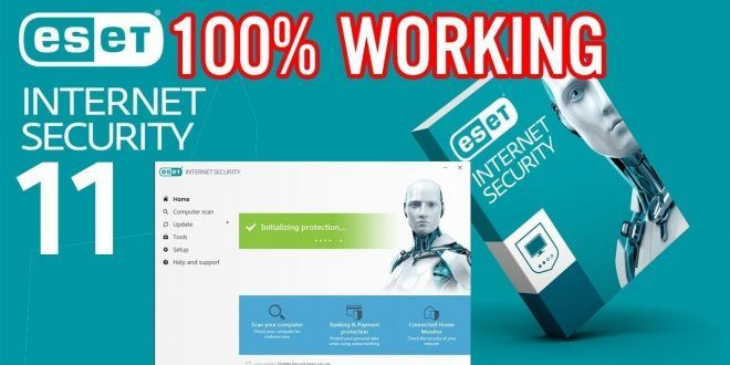 Eset Smart Security 11 License Key 2020 With Crack Full