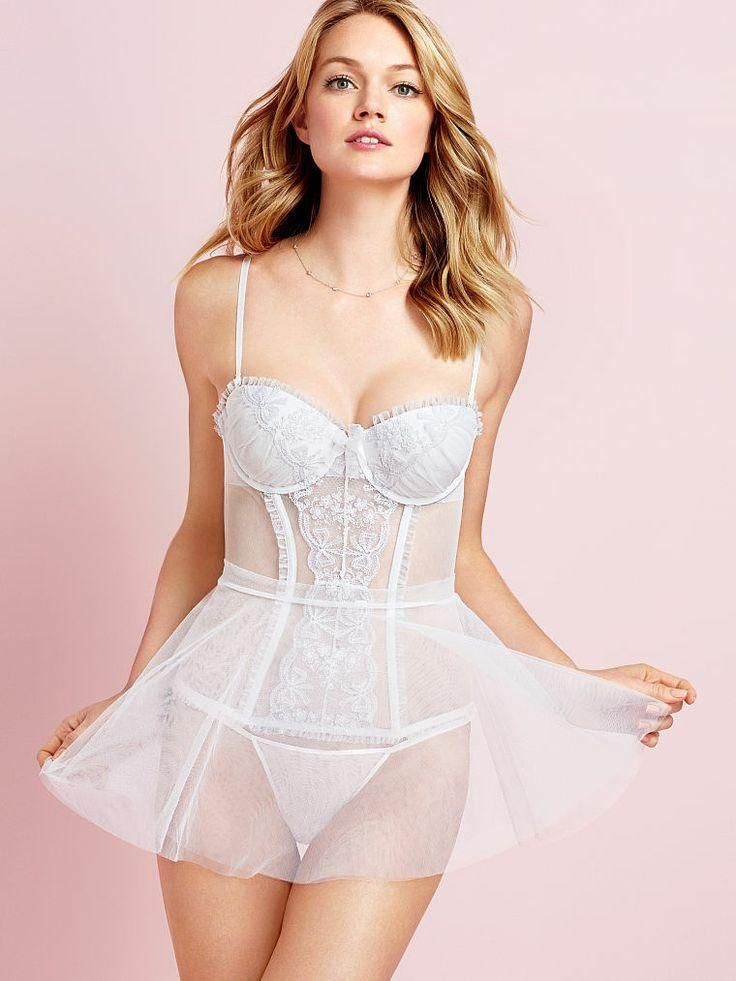 d75170588695 Wedding night done right. // Victoria's Secret Bridal Lingerie | Say ...