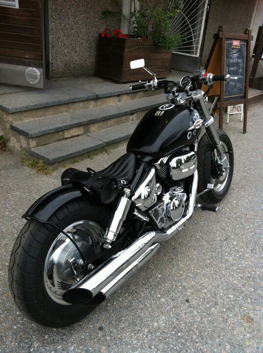 suzuki marauder bobber pinterest. Black Bedroom Furniture Sets. Home Design Ideas