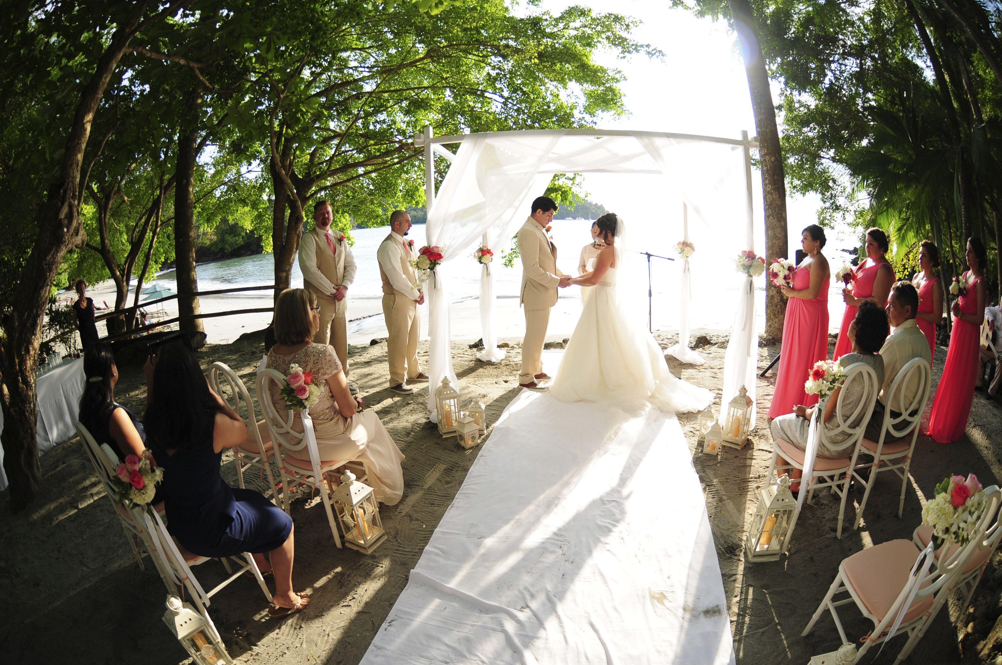 small beach wedding ceremony ideas%0A beach wedding  wedding ceremony  costa rica wedding  wedding canope