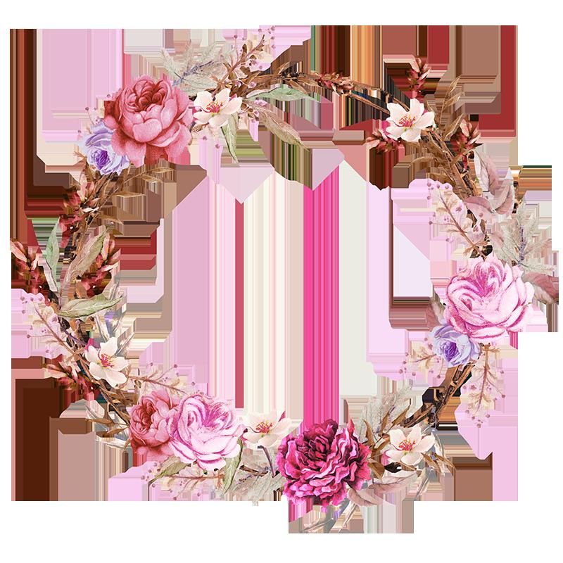 free floral invitation template