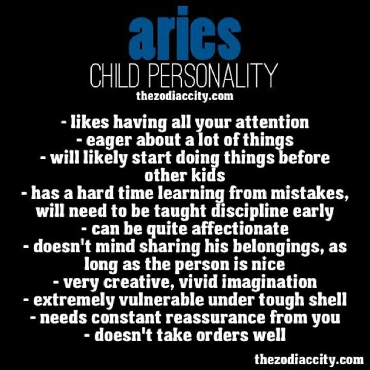 Aries Child Personality Aries Personality Aries Facts Aries Traits