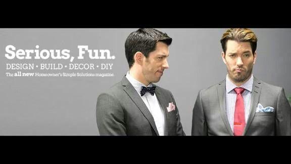WATCH OUT! For next issue of @hossmagazine Handsome Twins @MrDrewScott @MrSilverScott #propertybrothers