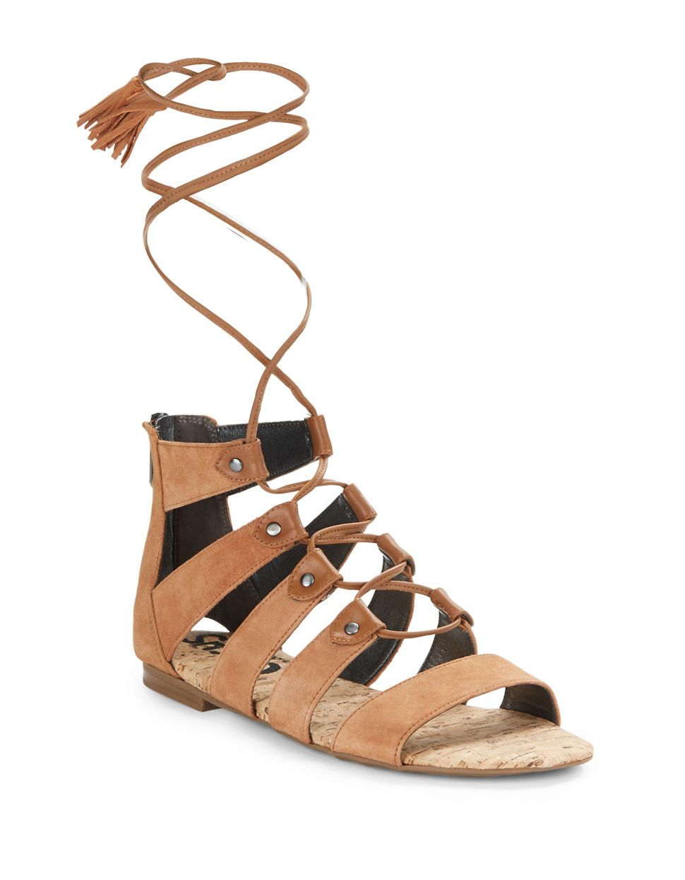 6546d9325 Circus by Sam Edelman Gibson Suede Lace-Up Sandals on ShopStyle ...