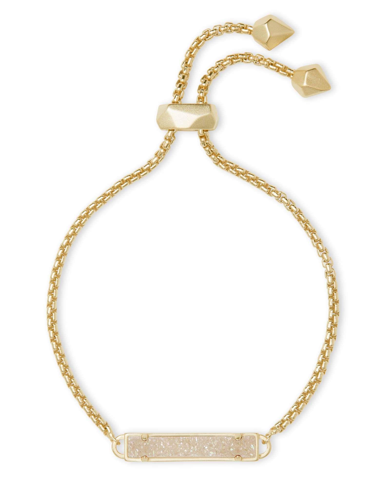 Kendra scott stan bracelet in gold drusy christmas gift ideas