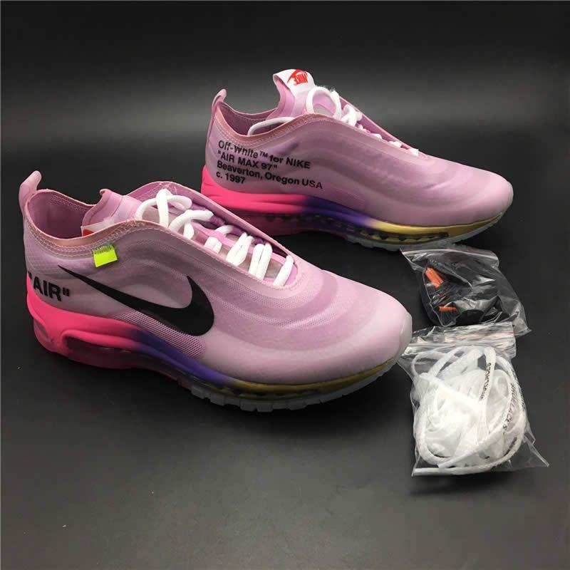 Serena Williams Off White X Air Max 97 Queen Elemental Rose Pink Womens Aj4585 600 Nike Air Max 97 Air Max 97 Air Max Women