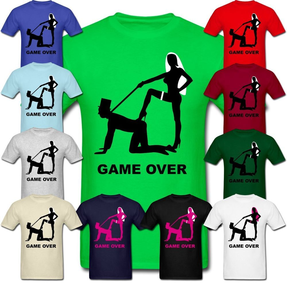 a5968089 GAME OVER SHIRTS - FUNNY BACHELOR PARTY T-SHIRT. COOL Marriage Wedding  Groom TEE #Gildan #GraphicTee
