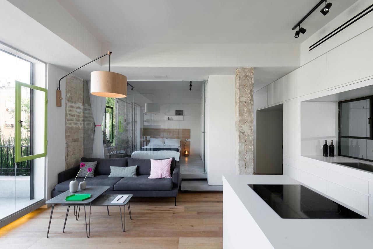 Clean and Minimal Renovation of a Small