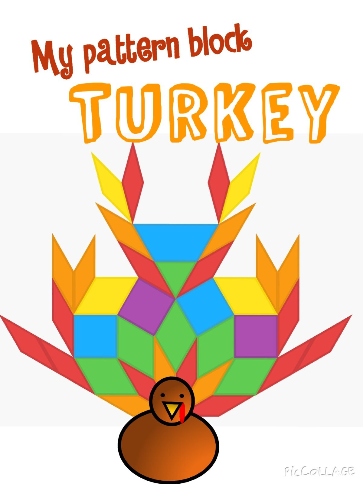 Turkey Math Thanksgiving Geometry Task Cards For The Ipad