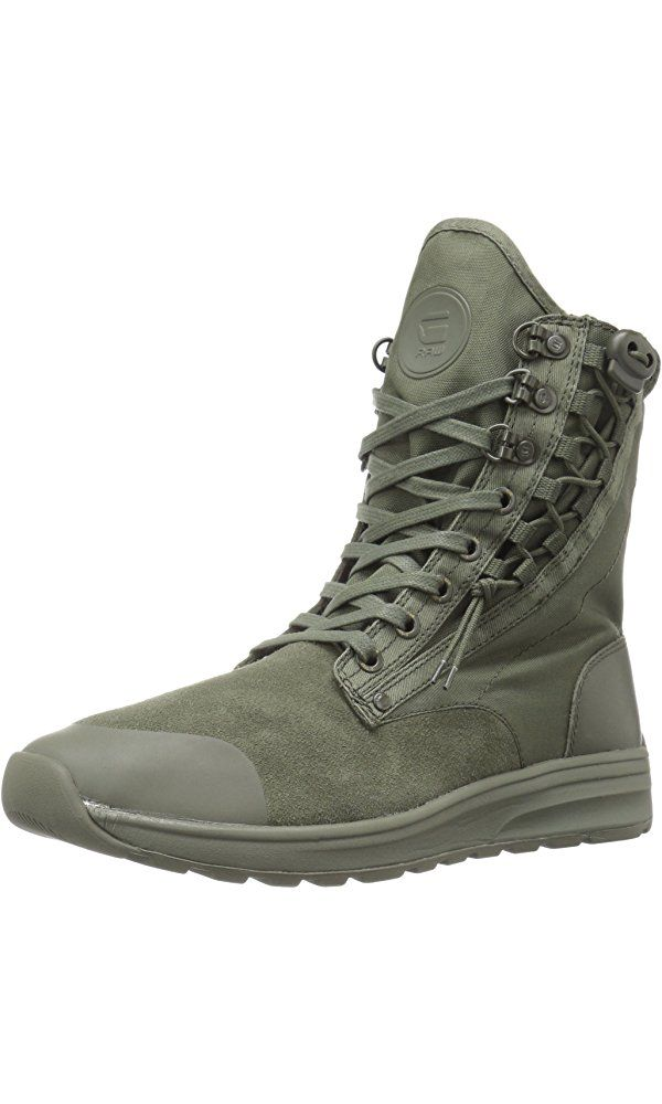 G Star Raw Men's Cargo High Fashion Sneaker, Combat, 42 EU9