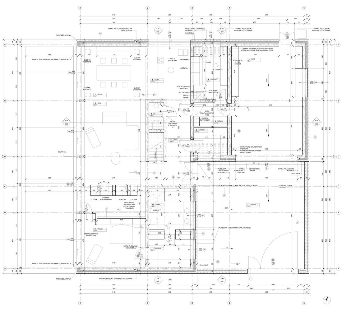 Gallery Of Red House Biuro Toprojekt 23 Red House Ground Floor Plan Floor Plans