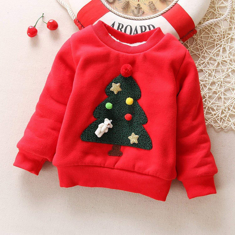 meiguiyuan Winter Pullover Children Sweaters Christmas Long Sleeve Outerwear O Neck Kids Knitwear, #Ad #Children, #Sweaters, #Christmas, #meiguiyuan