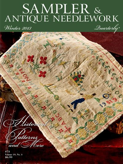 Create captivating cross-stitch samplers such as the decorative 19th-century Spanish sampler and the eloquent 19th-century sampler featuring Adam and Eve, as well as a Church of England hymn. Antique needlework students will delight in a set of small...
