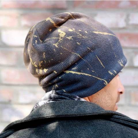 1355def8524 Mens beanie hats autumn winter wear knit hats outdoor sports