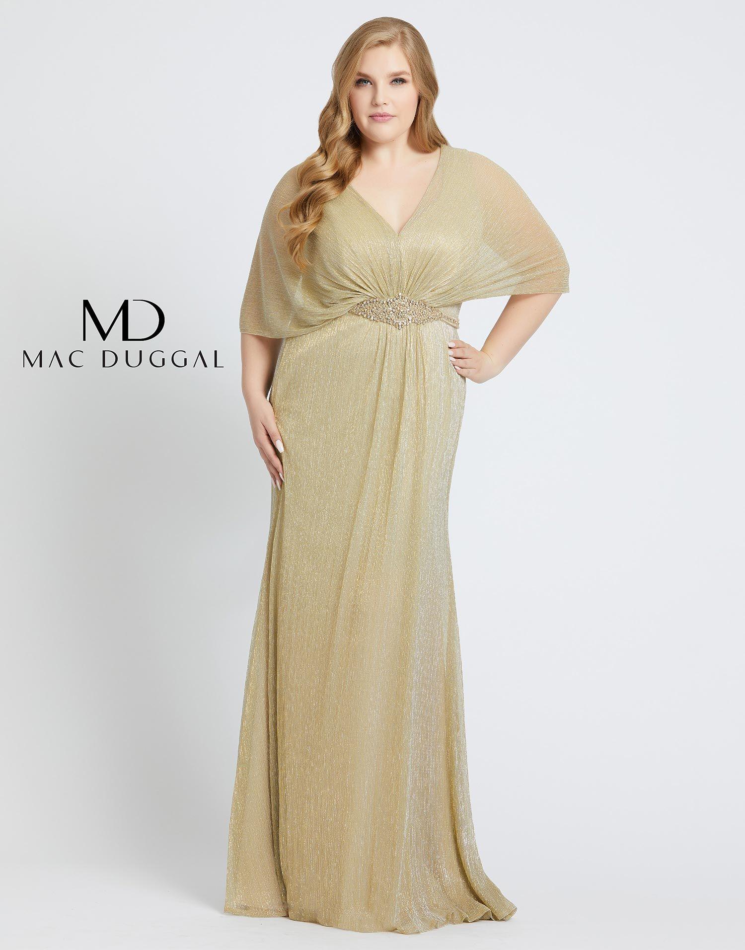 77678f Mac Duggal Plus Size Dress Wedding Dresses Plus Size Gold Sparkle Dresses Plus Size Formal Dresses [ 1912 x 1500 Pixel ]