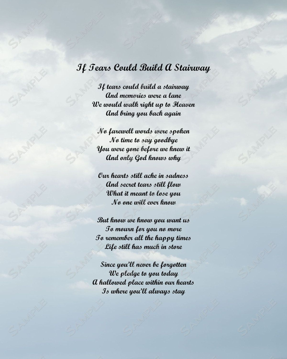 Funeral Poems For Mom From Daughter 3