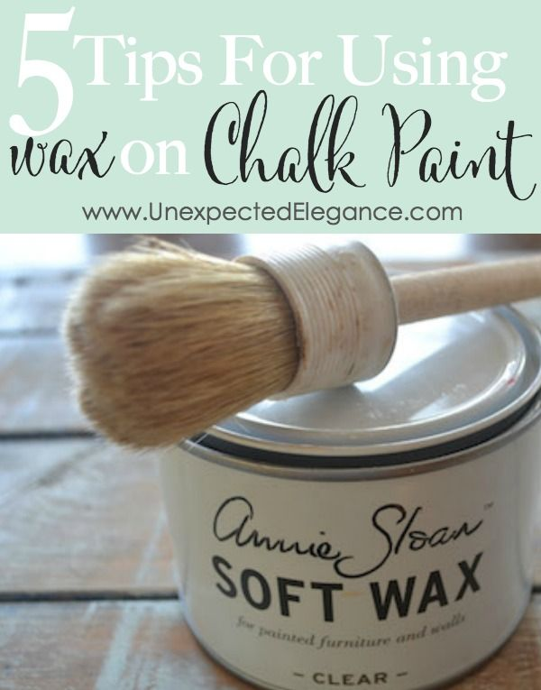 5 Tips For Using Wax On Chalk Paint Video Series Chalk Paint Wax Chalk Paint Furniture Chalk Paint