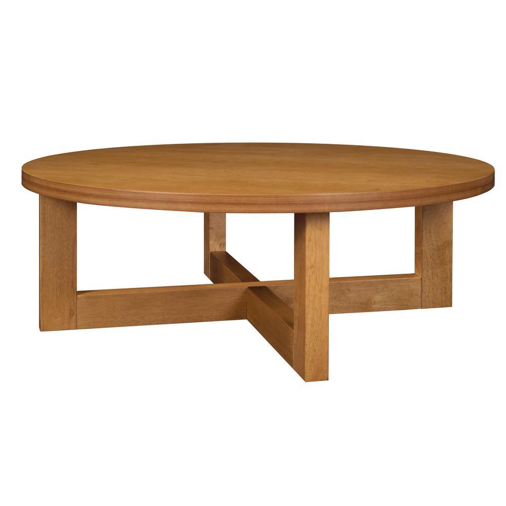 Regency Seating Chloe 37 In Medium Oak Medium Round Wood Coffee Table Hwtc3713mo The Home Depot Round Wood Coffee Table Coffee Table Coffee Table Wood [ 1000 x 1000 Pixel ]