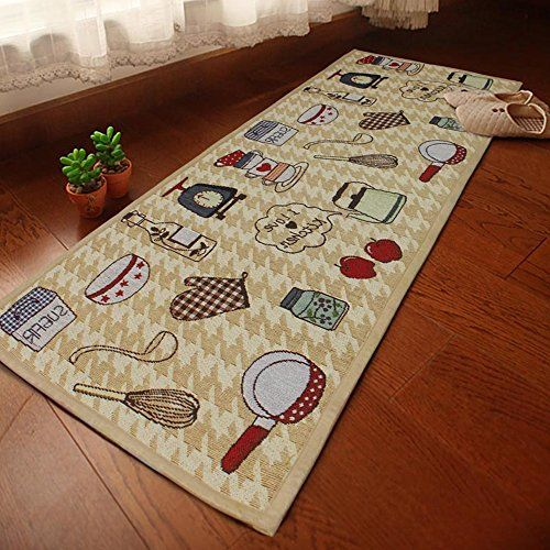 Best Kictchen Rugs Ihappy Jacquard Cotton Linen Kitchen Area Rug Floor Mat For Home Living Room Find Kitchen Area Rugs Area Room Rugs Kitchen Mats Floor