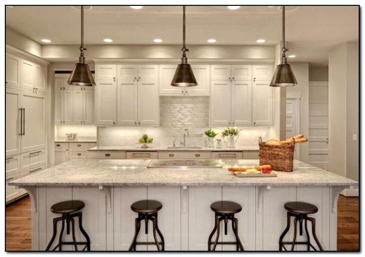 Single Pendant Lights For Kitchen Island White