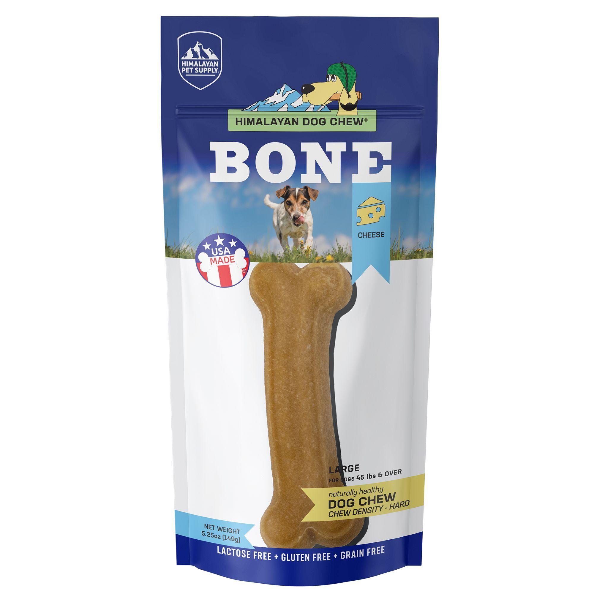 Himalayan Dog Chew® Bone Dog Treat - Natural, Grain Free, Cheese