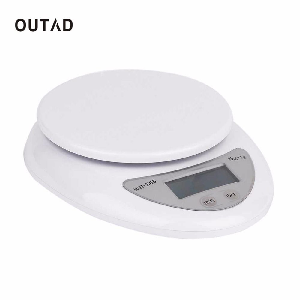 Best Price On Outad 5000g 1g 5kg Kitchen Scales Food Diet Postal Kitchen Digital Scale Scales Balance Weight Kitchen Scale Digital Kitchen Scales Postal Scale